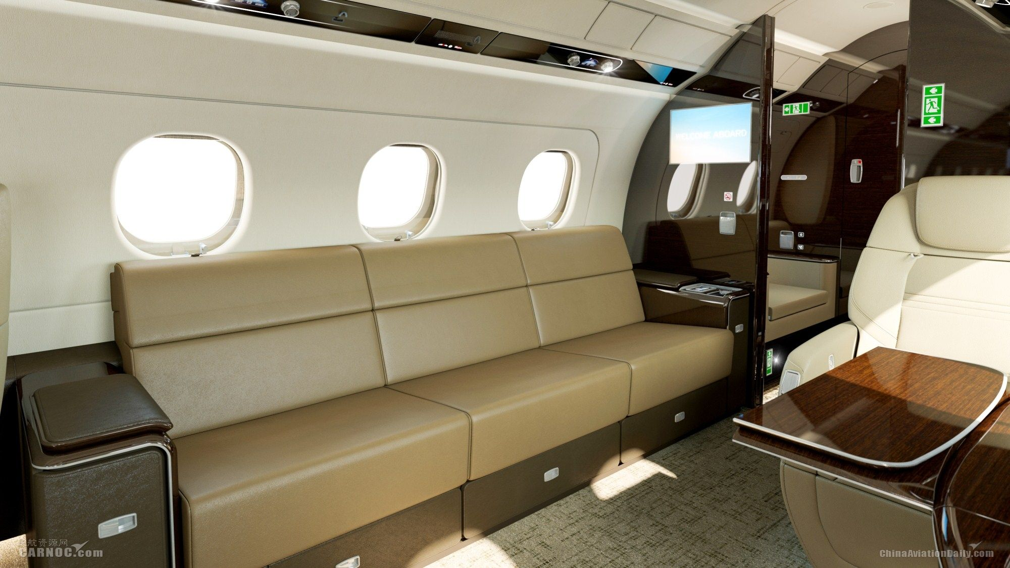 巴航工业携飞鸿300及莱格赛500亮相亚洲公务航空展
