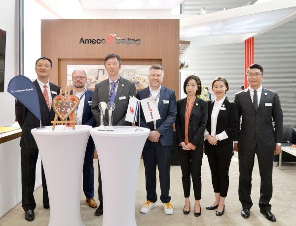 Ameco与汉莎技术在公务机服务领域成功合作