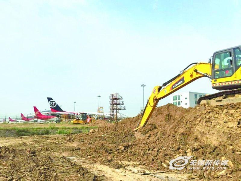 苏南机场新机坪10月投用 比现有机坪提高20厘米