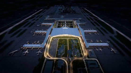 新航站樓設計方案獲批 杭州機場三期又有新進展