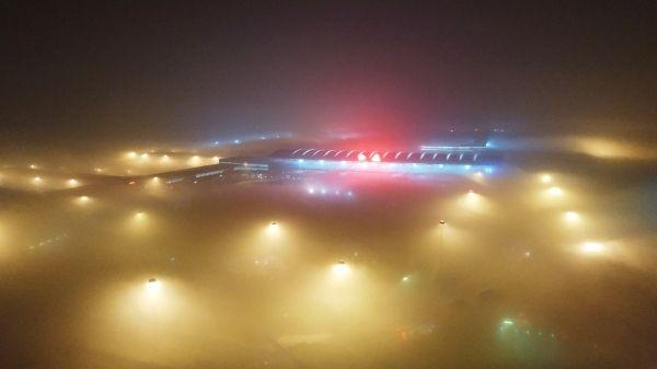 雾锁咸阳机场 西北空管局全力保障进出港航班运行