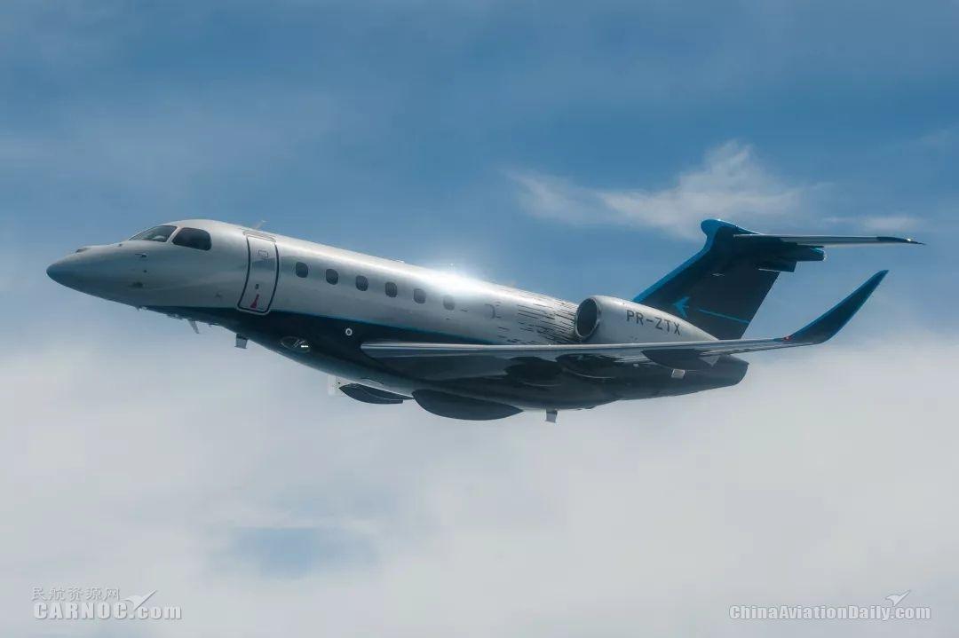 巴航工业领航600超中型公务机获巴西民航局型号认证