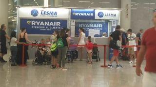 馬德里機場一男子舞刀傷人