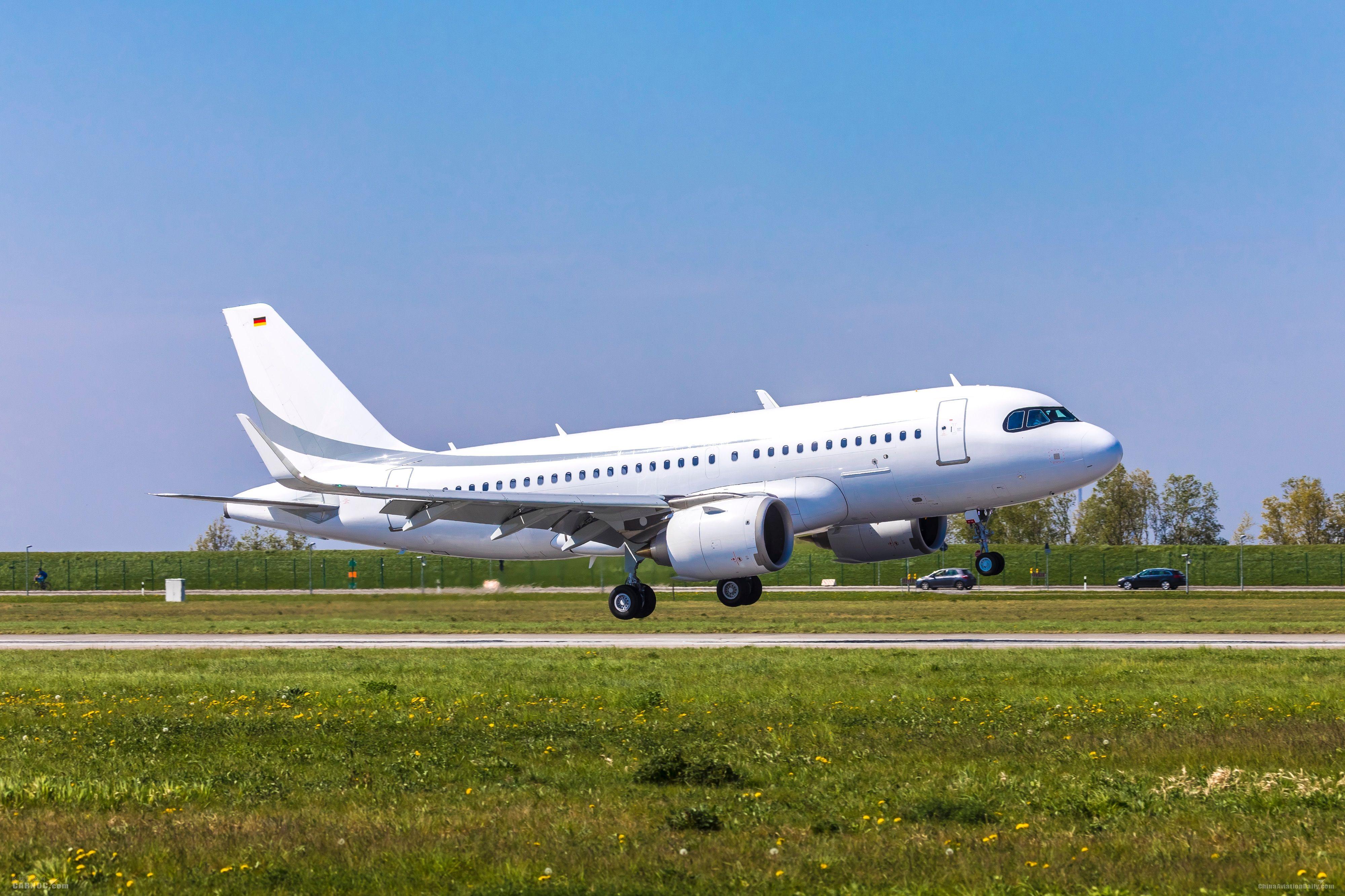 空客ACJ319neo公务机成功完成首飞