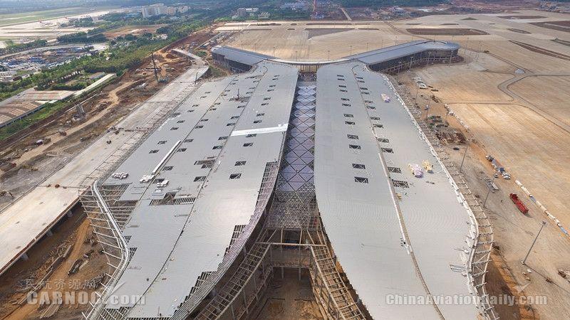 美兰机场二期扩建项目稳步推进 完成投资75.4亿