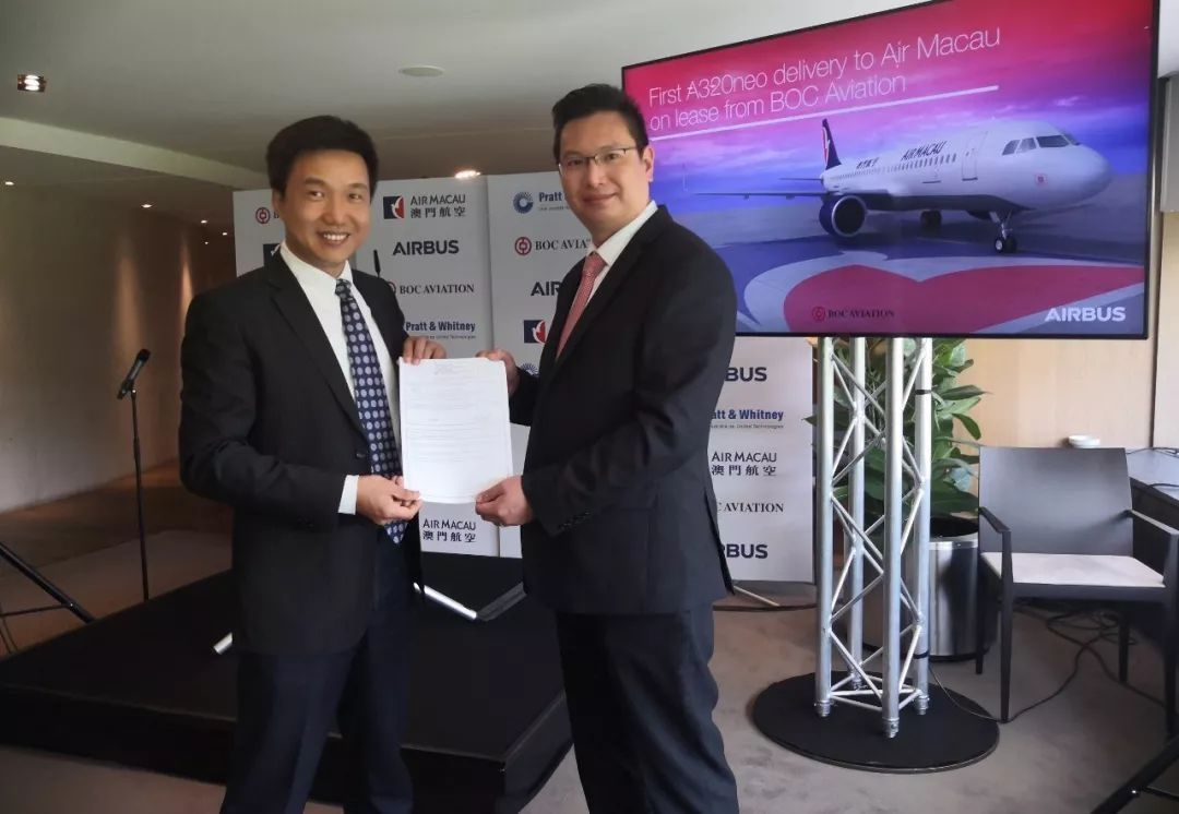 民航局完成验收首架在澳门注册的A320neo飞机