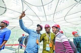 从天竺综保区到新机场 中外记者感受北京航空魅力
