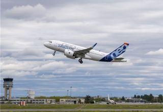 配备普惠发动机的空客A319neo飞机完成首飞
