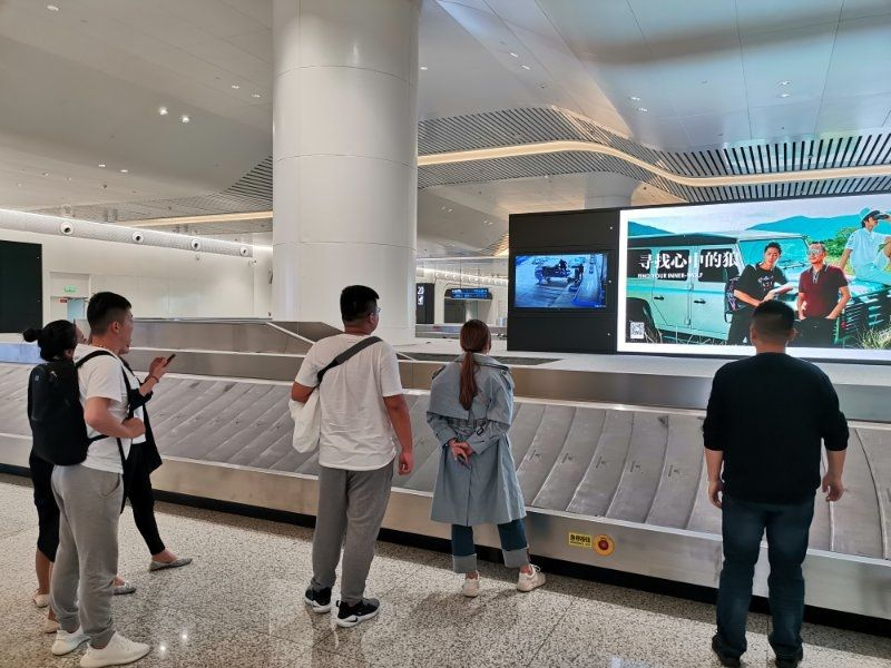 武汉天河机场正式启用行李运输可视化系统