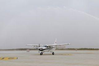 西部通航首架大棕熊飞机交付