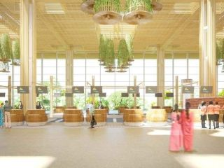 印肯佩格达机场  图片来源:SOM官网