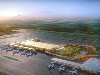 """""""花园中的航站楼"""":印度肯佩格达机场"""
