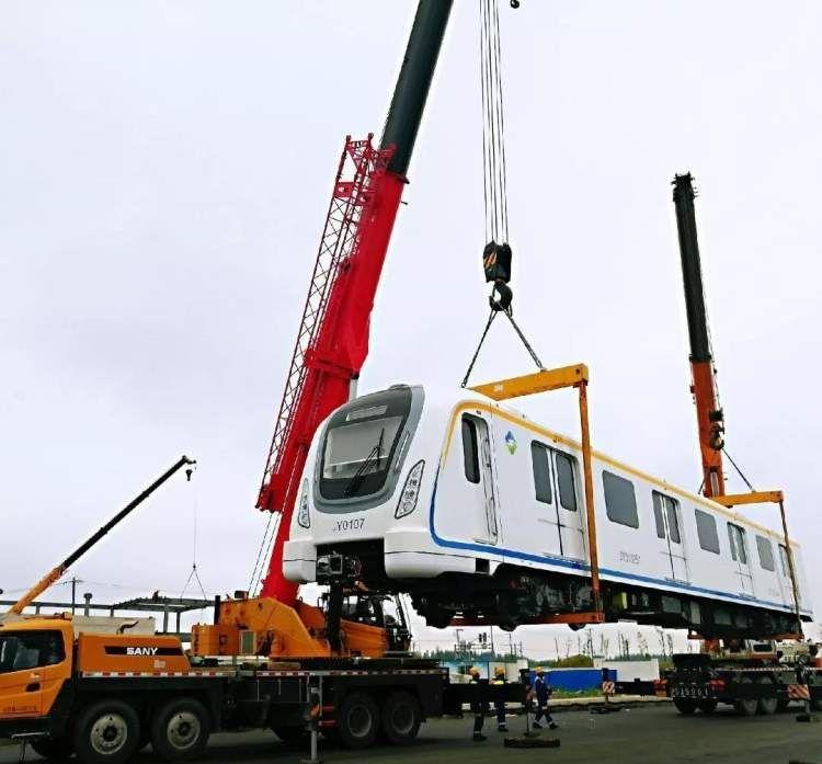 浦东机场捷运最后1列运抵基地 全面进入联调联试