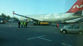 """地勤车""""冲撞""""A321客机 据称司机当时睡着了……"""