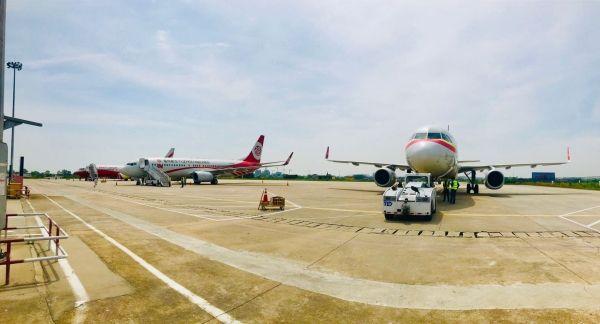 """安庆机场圆满完成""""五一""""小长假航班保障"""