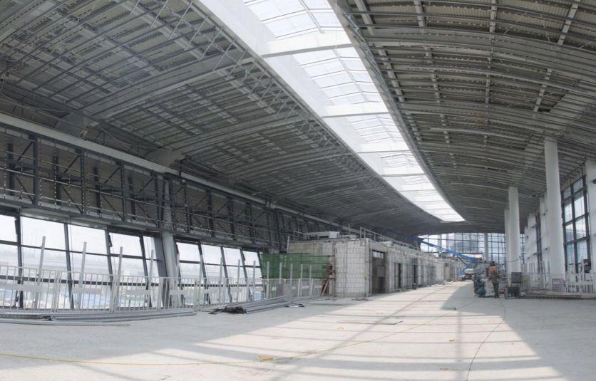 寧波櫟社機場新的航站樓搶先看 雛形來了!