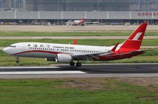 上航根据适航维修要求调机737MAX飞机