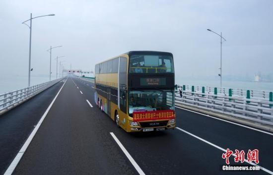 便捷!港珠澳大桥澳门口岸拟设香港机场直通巴士