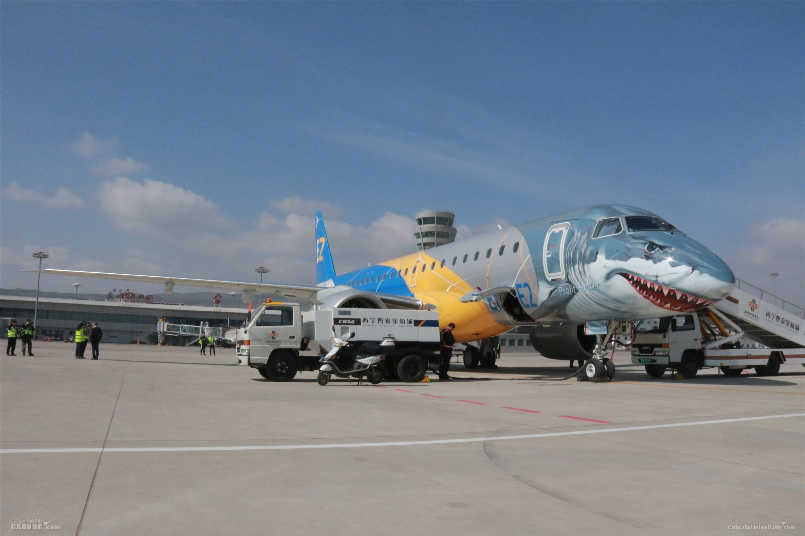 巴航工业最新款高高原客机将在青海进行演示飞行