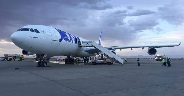 法航客机遇故障一度失联 紧急降落伊朗无伤亡