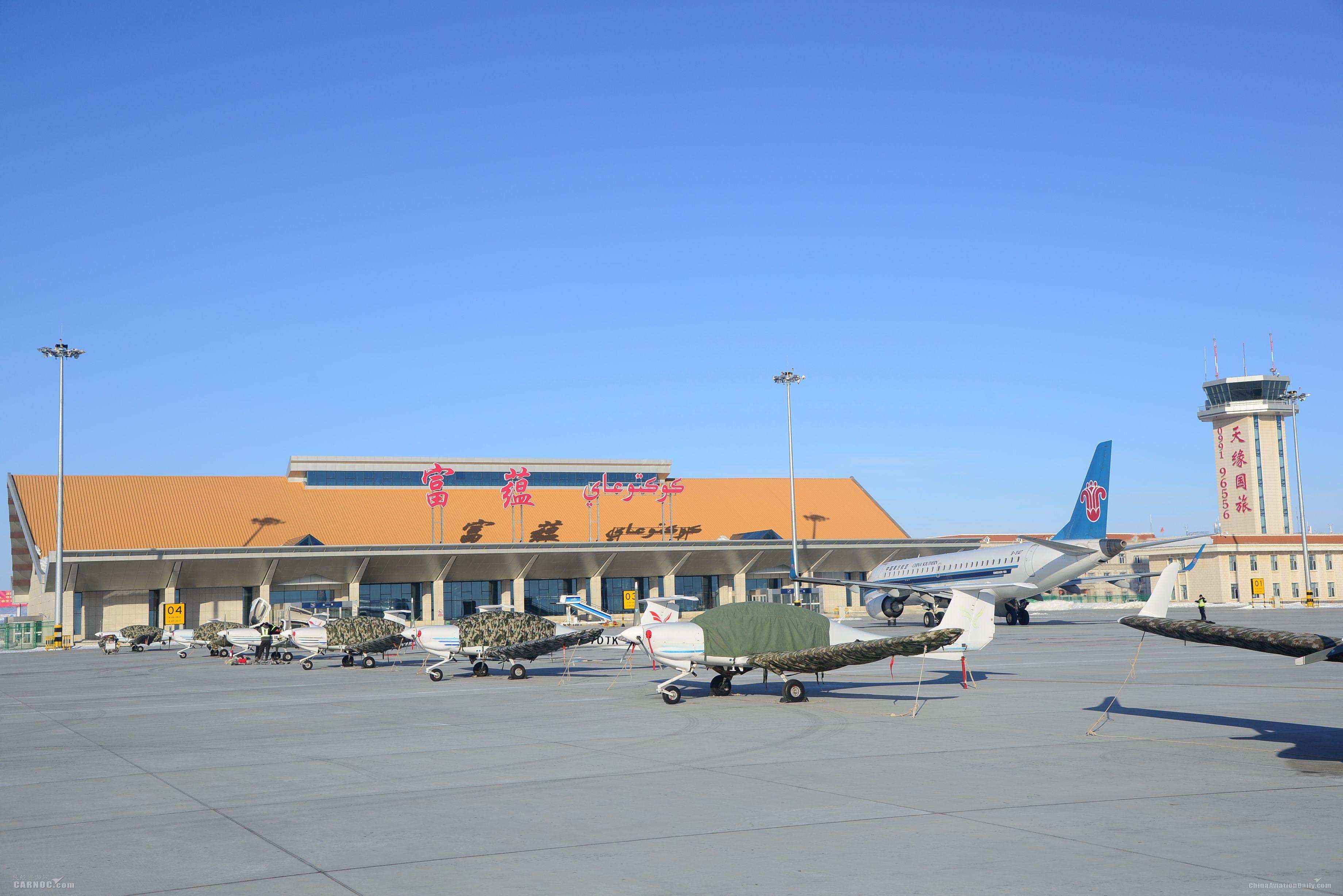 新疆机场集团各支线机场4月新开复航13条
