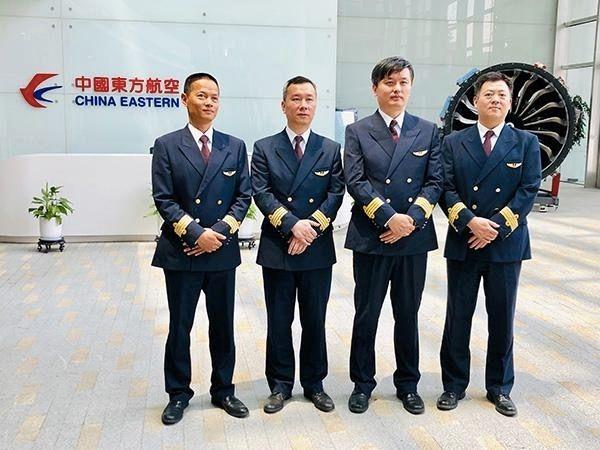 东航试飞机组。来源:东航