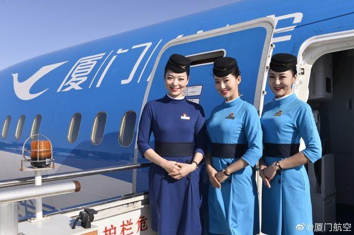 图集|厦航联合国涂装波音787-9执行试飞任务