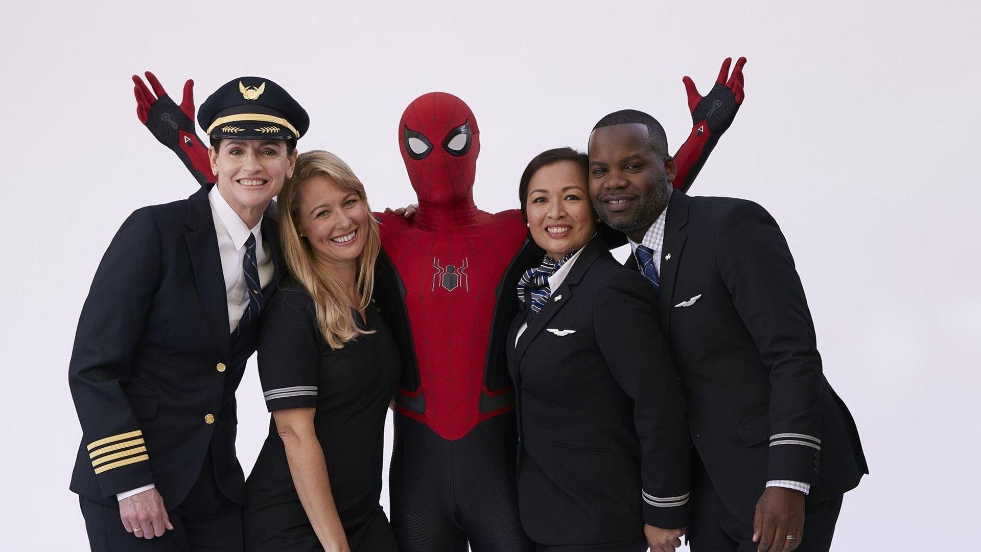 超级英雄蜘蛛侠为你讲解乘机安全须知