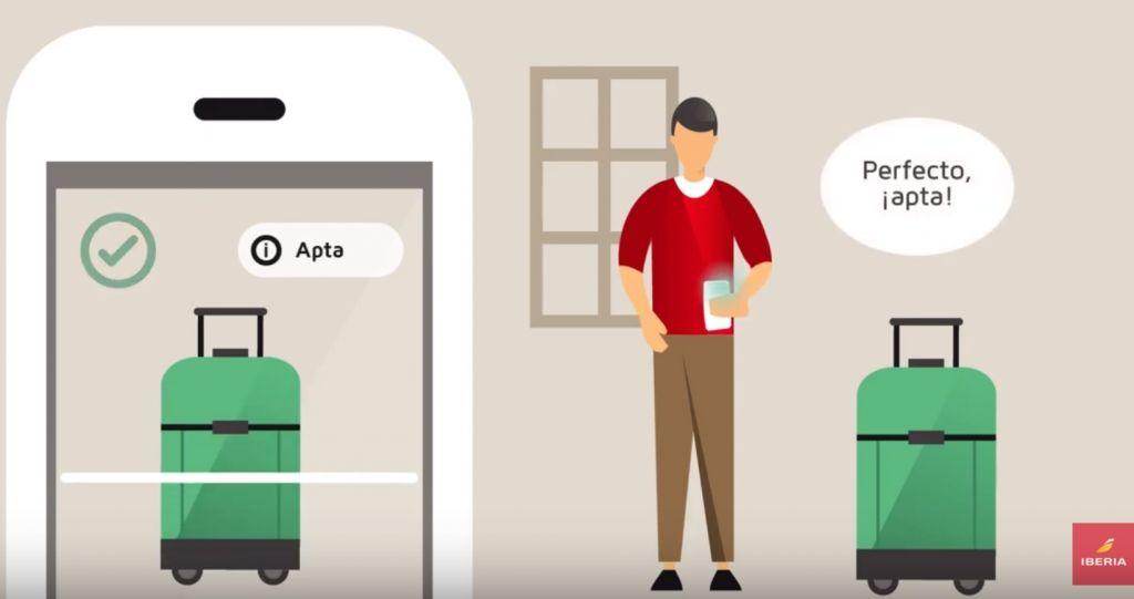 伊比利亚航空推出app扫描行李功能