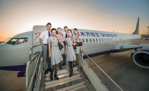 乌鲁木齐航空首飞乌鲁木齐=武汉=新加坡航线