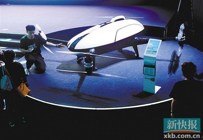 用时仅8分钟!首条无人机配送服务实现首航