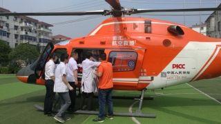 金汇通航直升机66分钟极速转运外省籍重症伤者