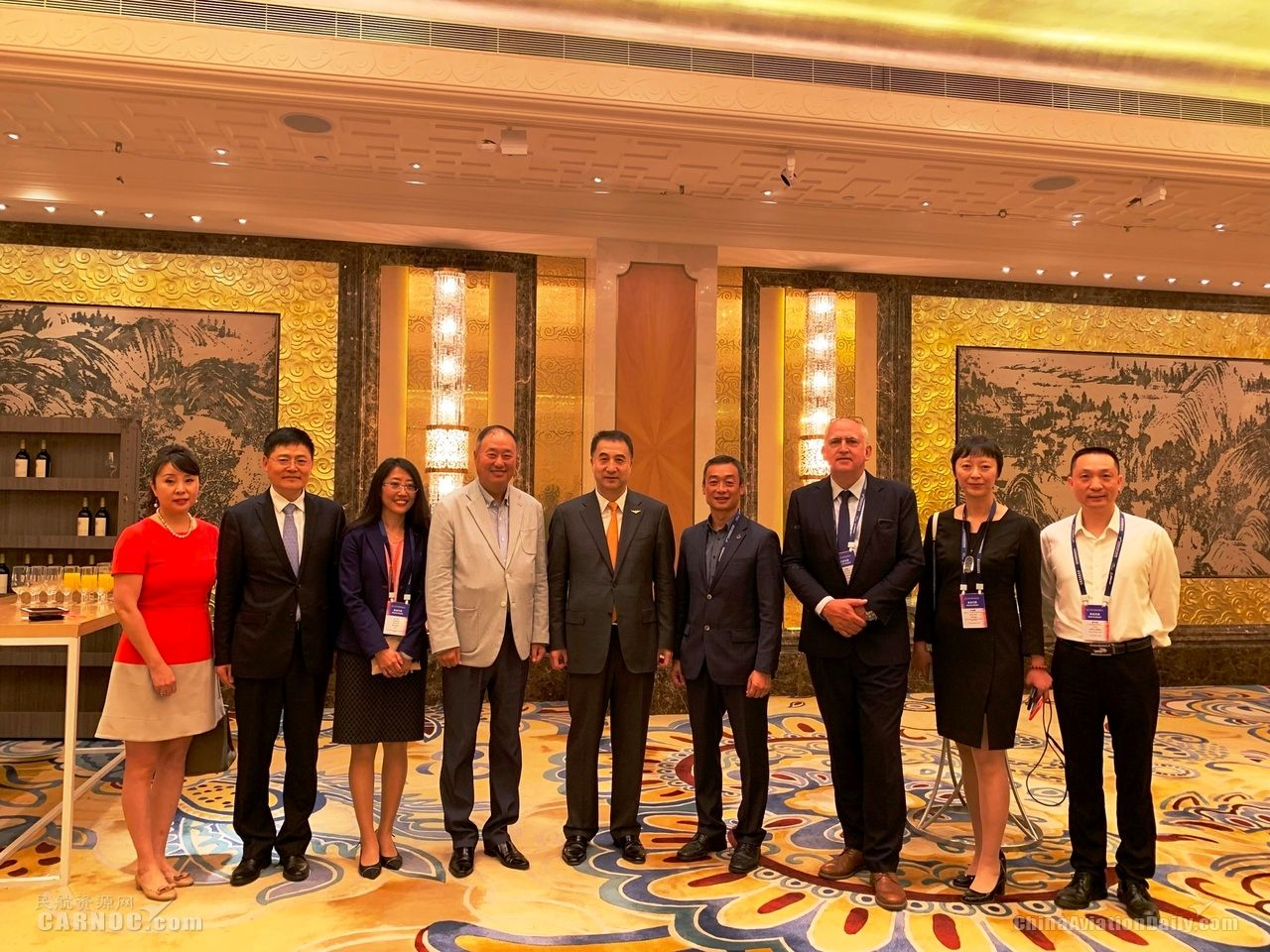 澳门机场邓军主席率团参加2019中国民航发展论坛