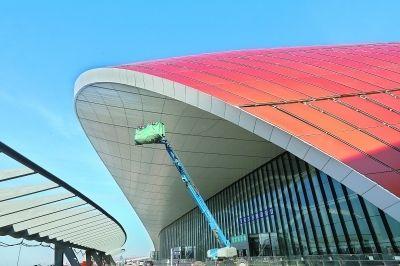 大兴国际机场主航站楼装修基本完工