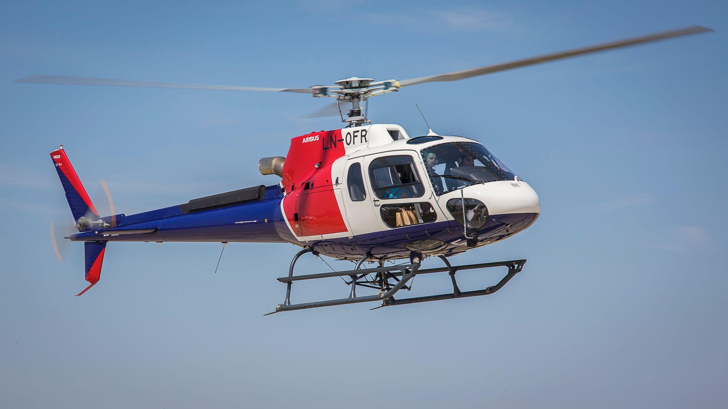 挪威Helitrans成为接收配有数字日志H125的首家运营商