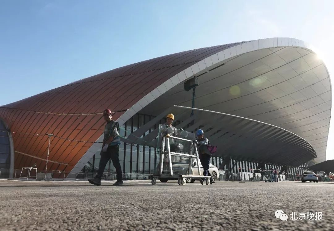 大兴机场主航站楼内装修基本完工!高清大图抢先看