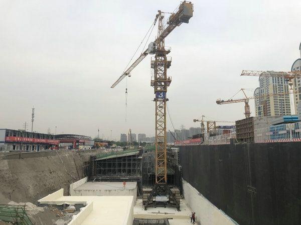 北京新机场线全线完成铺轨
