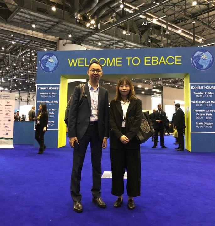 澳门国际机场代表出席欧洲公务航空会议及展览
