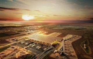 未来的全球最大机场部分启用 看看它到底有多大