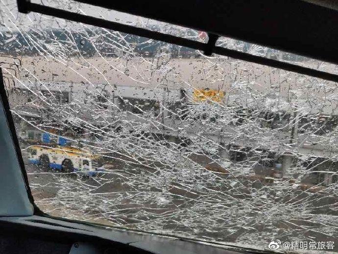 客机遭遇冰雹风挡玻璃破裂 释疑:能否避开冰雹?