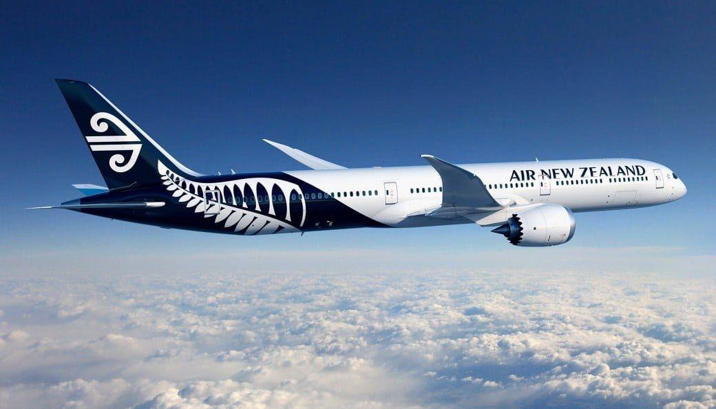 新西兰航空订购8架787-10  目录价值27亿美元