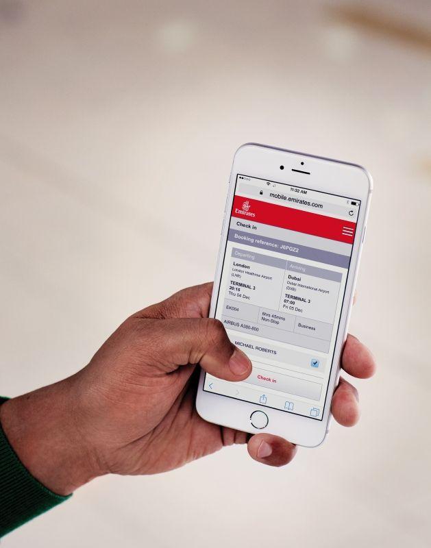 图片 阿联酋航空App可适配语言增至19种