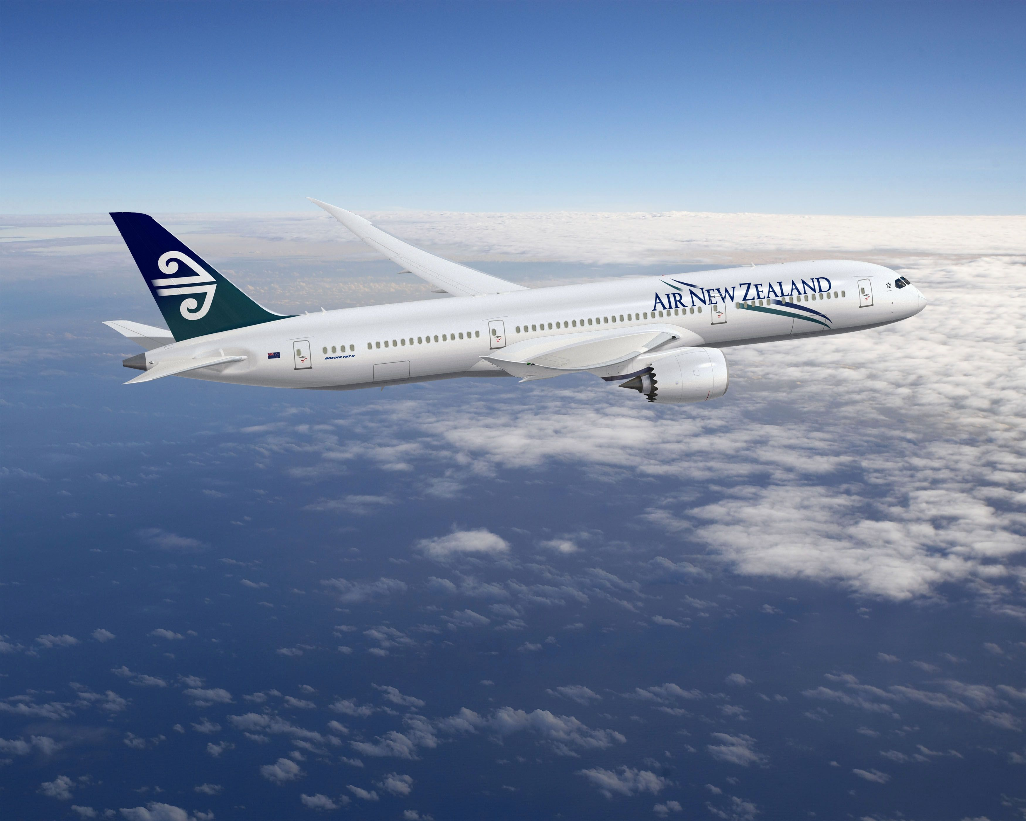 新西兰航空因787引擎问题取消大量航班 1.4万人或受影响
