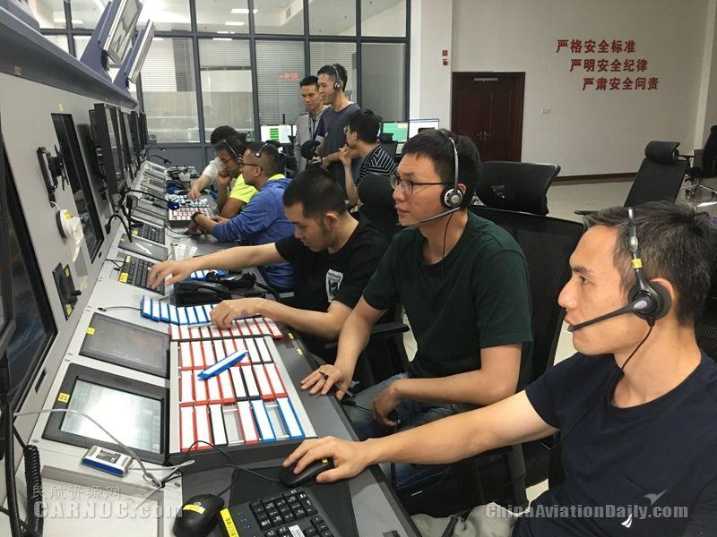 厦门空管站启用新管制大厅 提升海峡西岸空管保障能力