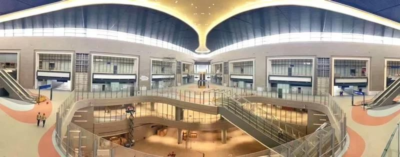 上海浦东机场卫星厅及捷运车站工程通过竣工验收