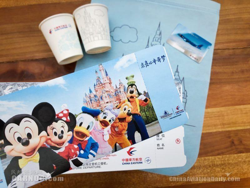 """三架迪士尼彩绘机齐聚北京 东航推出儿童节""""连接奇梦""""主题航班"""