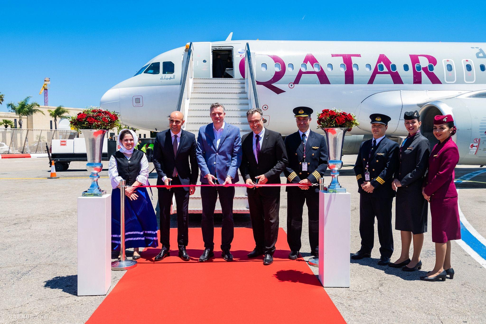 卡塔尔航空开通多哈直飞马耳他航线