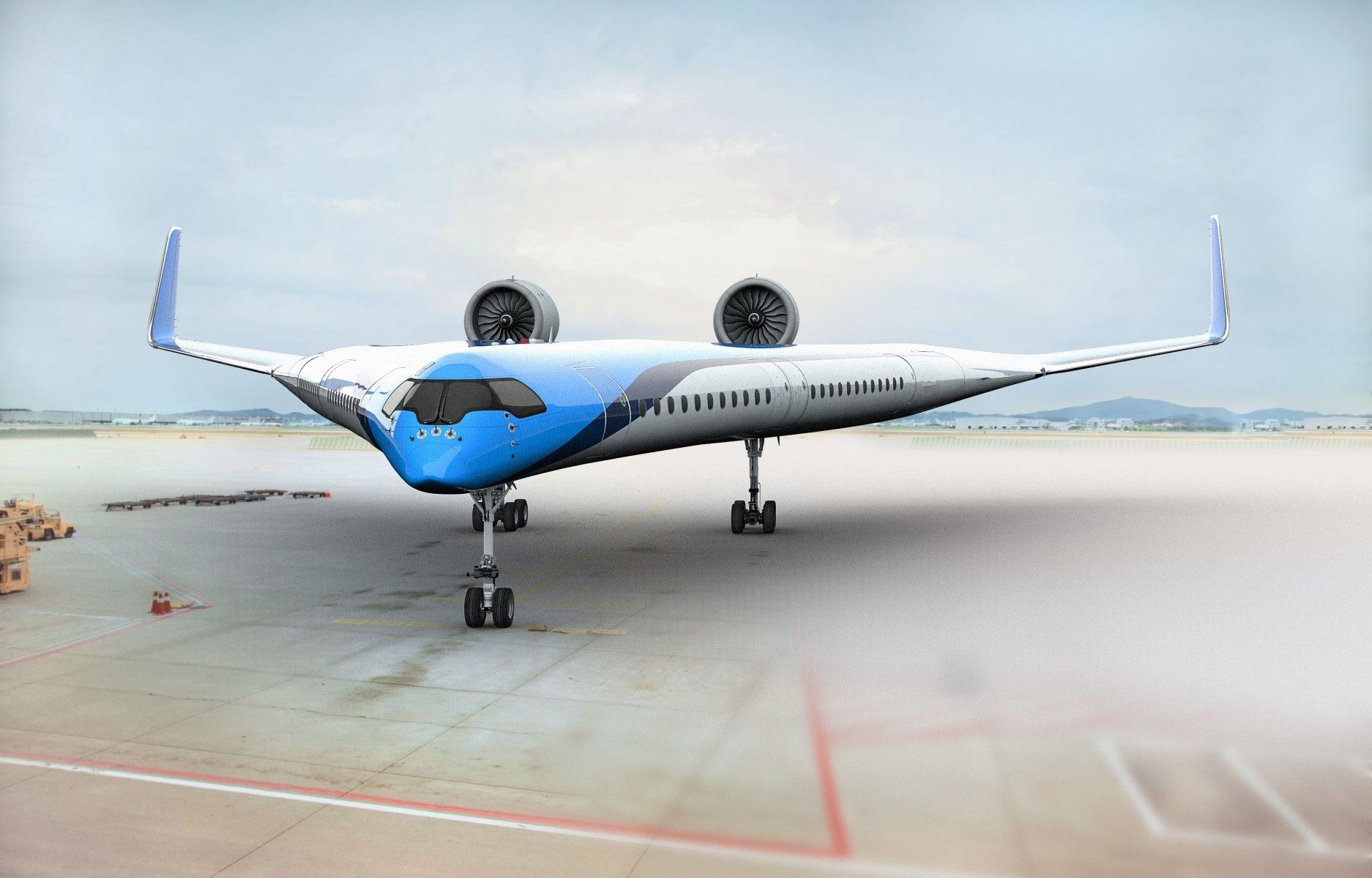KLM打造V型省油减碳飞机 可节省20%油耗