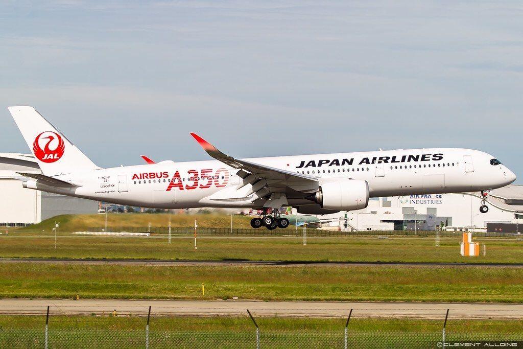 日航首架A350-900飞机完成首飞,即将交付