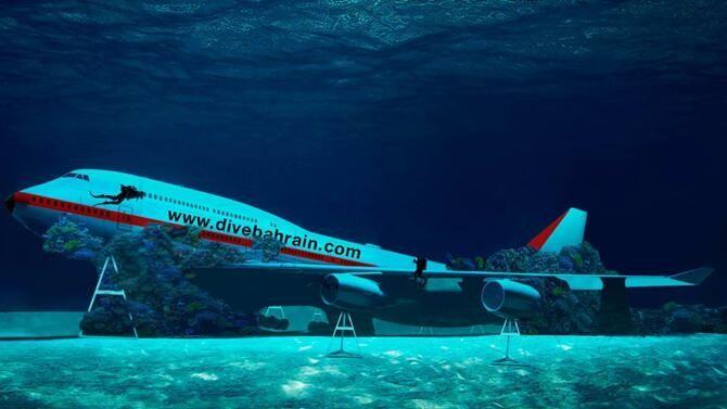 波音747飞机特色水下主题公园将于8月开放